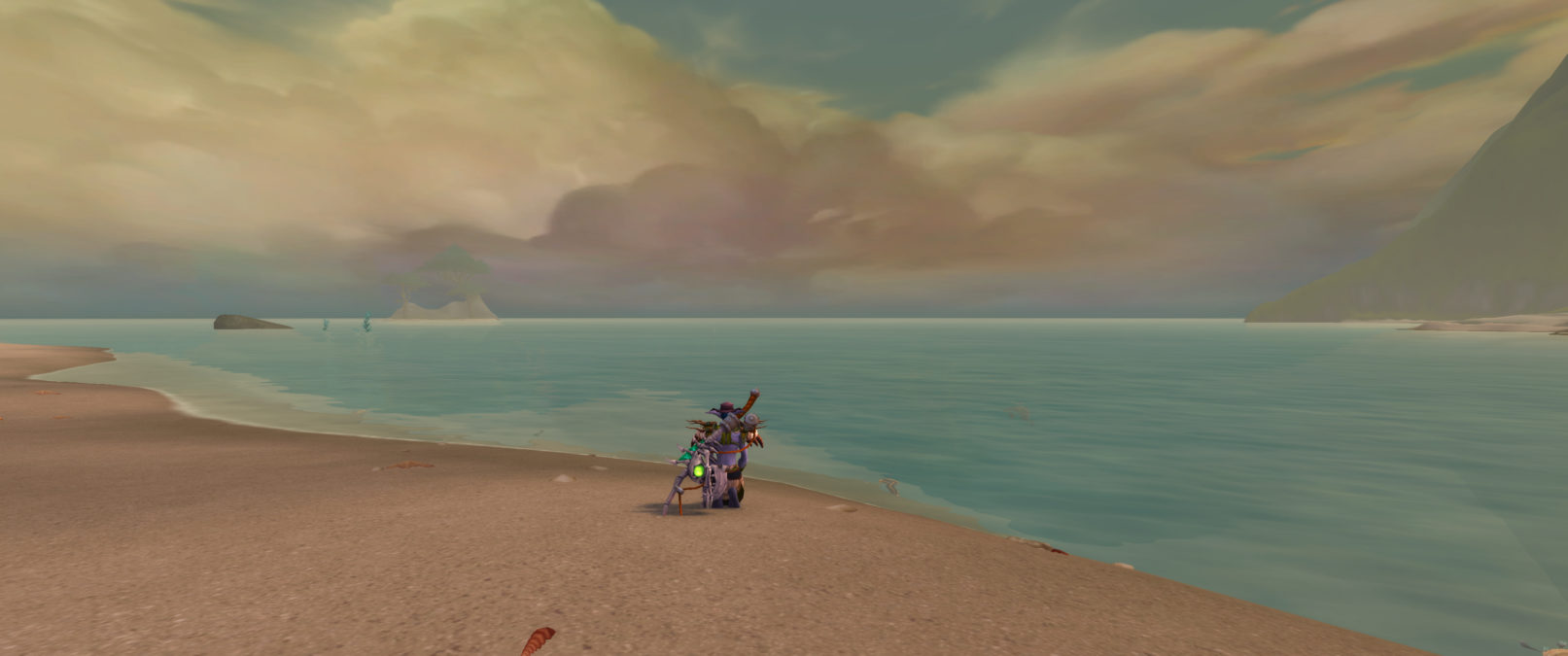 Fishing in Zandalar
