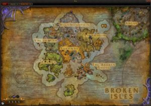 World Quest Map
